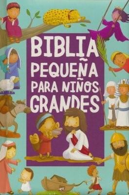 Biblia Pequeña Para Niños Grandes