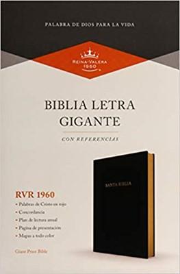 RVR1960 Biblia Letra Gigante (Imitación piel, negro)