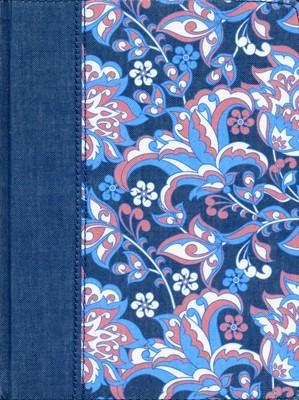 RVR 1960 Biblia de Apuntes Edición Ilustrada (Tapa Dura Colores Rosado y Azul)