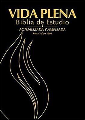 RVR 1960 Biblia de Estudio Vida Plena (Piel Regenerada)