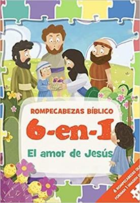 Rompecabezas Bíblico: El Amor De Jesús (Rompecabezas)
