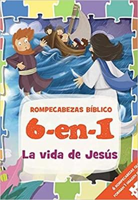 Rompecabezas Bíblico: La Vida De Jesús (Rompecabezas)