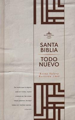 """RVR 1960 Biblia Del Nuevo Creyente """"Todo Nuevo"""""""