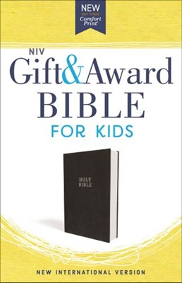 NIV Gift & Award Bible for Kids (Tapa Dura)