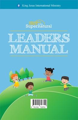 Manual Para Líderes De Niños (Rústico)