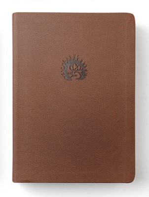 LBLA La Biblia de Estudio de La Reforma (Piel Fabricada, Cafe Claro)