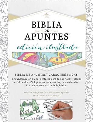RVR 1960 Biblia de Apuntes Edición Ilustrada (Tela)