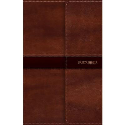 NVI Biblia Ultrafina (Símil piel, marrón, Índice)