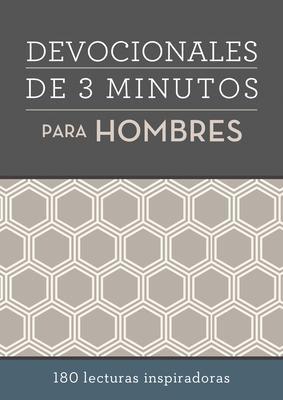 Devocionales de 3 Minutos Para Hombres (Rústica)