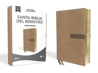 NBLA Biblia del Ministro (Símil Piel, Beige)