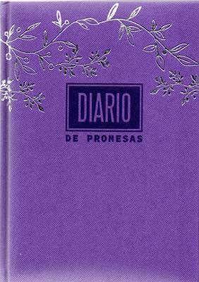 Agenda Diario De Promesas 2022 (Tapa dura, Lila)