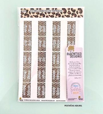 Índice Para Biblia Leopardo Animal Print (Plástico)