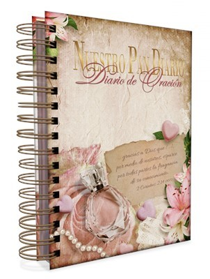 Nuestro Pan Diario 2021-Diario de Oración (Espiral Metálico Tapa Dura)