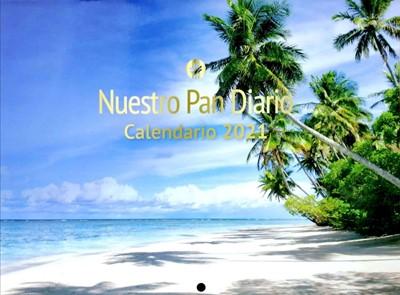 Calendario De Pared Nuestro Pan Diario 2021 (Rústica)