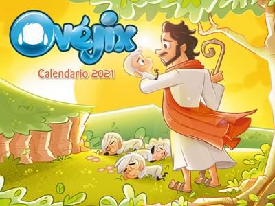 Calendario Infantil De Pared-Ovejix 2021 (Rústica )