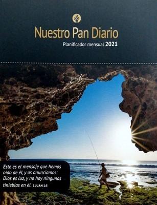 Planificador Mensual 2021 Nuestro Pan Diario (Rústica)