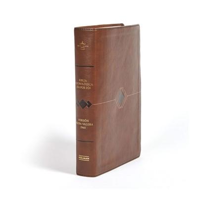 RVR 1960 Biblia de Estudio Cronológica (Simil Piel Marrón)