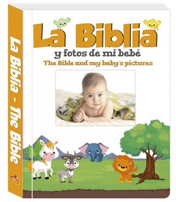 La Biblia y Fotos De Mi Bebe (Acolchada)