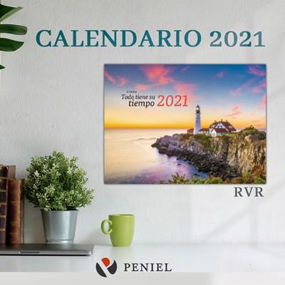 Calendario De Pared 2021 Todo Tiene Su Tiempo (Rústica)