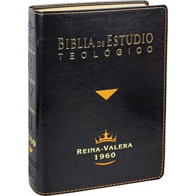 RVR60 SBU Biblia De Estudio Teológico Con Índice (Imitación Piel)
