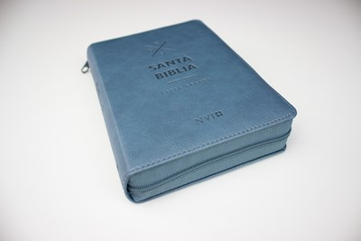 Biblia NVI Letra Grande Con Zipper (Imitación Piel)