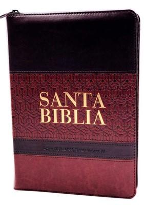 RVR 1960 Biblia Letra Gigante (Imitación Piel Zípper Índice)