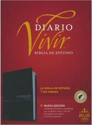 RVR1960 Biblia de Estudio Diario Vivir Índice (Piel especial)