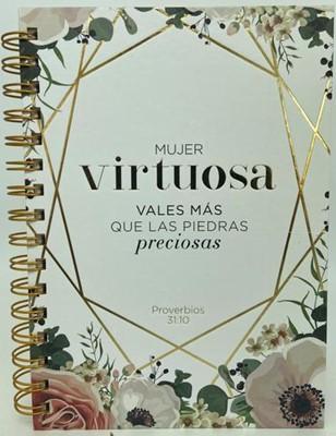 Libreta Espiral - Virtuosa (Tapa Dura)