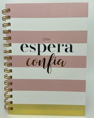 Libreta Espiral - Ora, Espera, Confía (Tapa Dura)