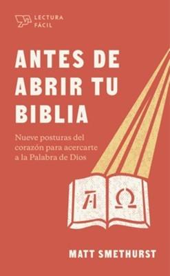 Antes De Abrir Tu Biblia - Lectura Fácil (Rústica)