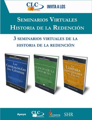Seminario Virtual Historia de la Redención (Oferta Especial de 3 Libros)