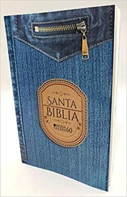RVR1960 Biblia Económica Diseño Jean (Rustica Diseño Jean )