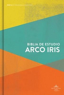 RVR1960 Biblia Arcoíris Multicolor (Tapa Dura )
