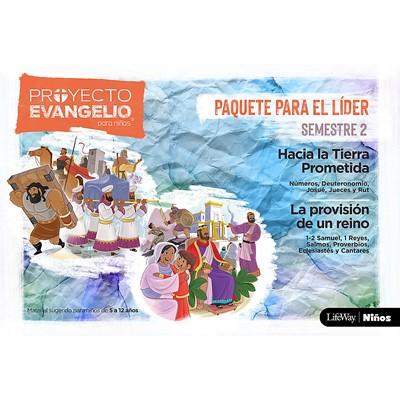 Proyecto Evangelio Para Niños Paquete El Líder Semestre 2 (rustica)