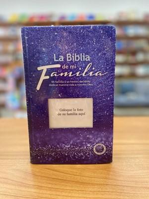 TLA La Biblia de mi Familia (Tapa Dura, morado)