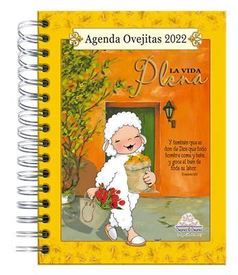 Agenda Ovejitas La Vida Plena 2022 (Tapa Dura, Espiral, acolchonada)
