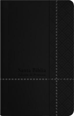 RVR 1960 Biblia de Promesas Manual (Imitación Piel Con Zíper, Negro)