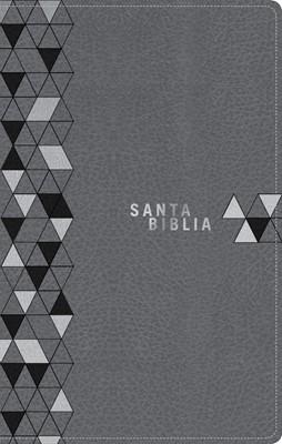 NTV Biblia Edición Zíper (SentiPiel - Gris suave)