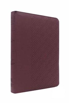 RVR 1960 Biblia Letra Gigante (Imitación piel, vino tinto, zíper, canto dorado)