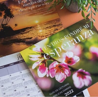 Calendario 2022 Flores (rustico)