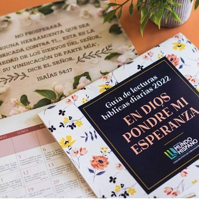 Calendario 2022 En Dios Pondré Mi Esperanza (rustica)