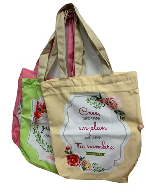 Bolso De Tela Life Gift Group (Tela)