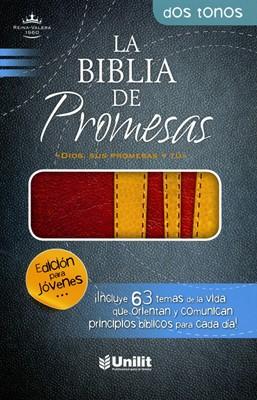 RV1960 Biblia De Promesa Juvenil (Imitación Piel Dos tonos)