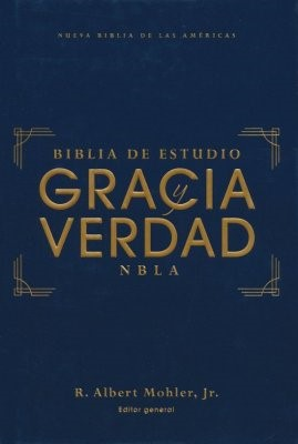 NBLA Biblia De Estudio Gracia y Verdad (Tapa Dura)