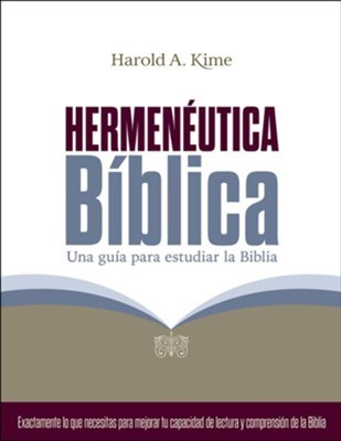 Hermenéutica Bíblica (rustica)