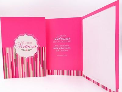 Tarjetas Mujer Virtuosa (Papel)