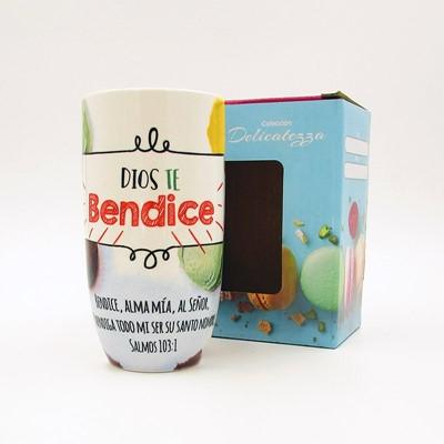 Taza Dios Te Bendice (cerámica)