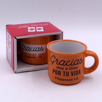 Taza Gracias (cerámica)