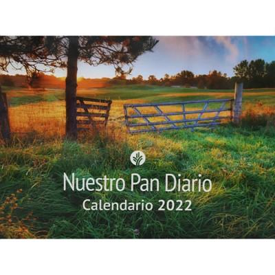 Calendario De Pared 2022 - Paisaje (rustica)