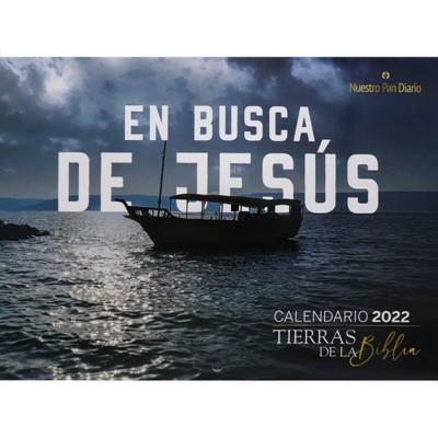 Calendario De Pared 2022 - Tierras De La Biblia (rustica)